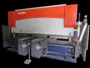 CNC ohýbanie ohraňovanie konštrukčnej ocele ohýbanie plechov silou