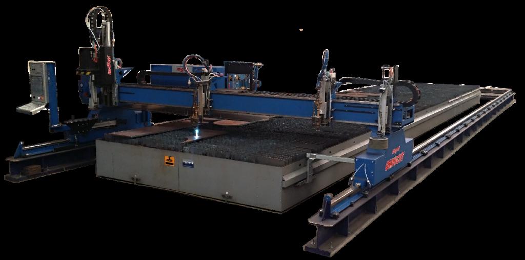 CNC rezanie plechu kyslíkom - messer, vanad MGM